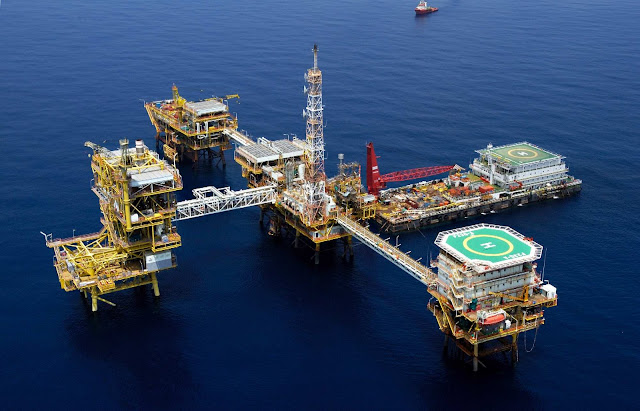 Oil and Gas: Production System on Offshore Platform
