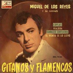 Miguel de los Reyes canta Cinco Farolas en la que sería su última actuación. - vintage-spanish-song-n%25C2%25BA44-eps-collectors-opera-flamenca-