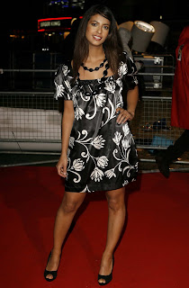 Konnie Huq Shows Off Her Legs