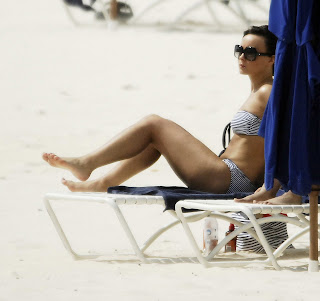 Chanelle Hayes Bikini Candids