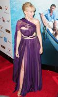 Kylie Minogue in a See-Thru Dress