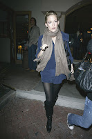Kate Hudson in Black Nylons & Boots