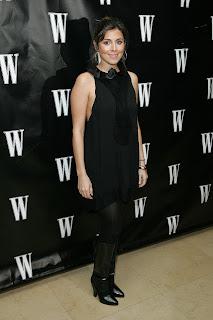 Jamie Lynn Sigler in Black Nylons & Boots