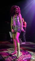 Joss Stone in a Tight Silver Dress