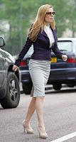 Geri Halliwell Tight Skirt Candids