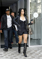Rihanna in Boots