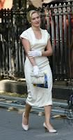 Kate Winslet On Set Candids