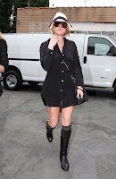 Lindsay Lohan in Boots