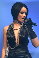 Rihanna Performing on Stage