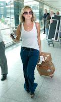 Rachel Stevens Airport Candids