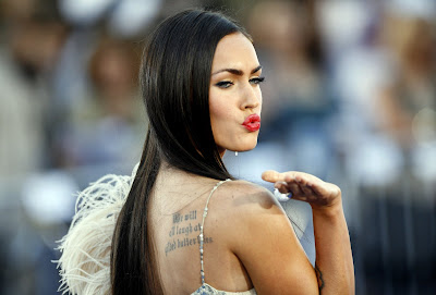 Megan Fox at the 'Transformers' Premiere