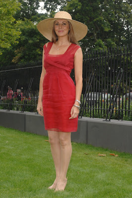 Carol Vorderman at Ascot