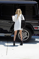 Mary-Kate Olsen Leggy Candids