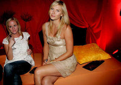 Maria Sharapova Shows Off Her Legs