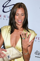 Brooke Burns Cleavage Shots
