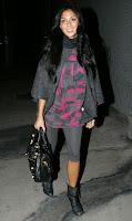 Nicole Scherzinger Leggy Candids