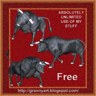 http://grannyart.blogspot.com/2009/05/bull-in-png-free.html