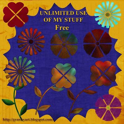 http://grannyart.blogspot.com/2009/06/metal-flowers-in-png-free.html