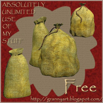 http://grannyart.blogspot.com/2009/11/sack-in-png-free.html