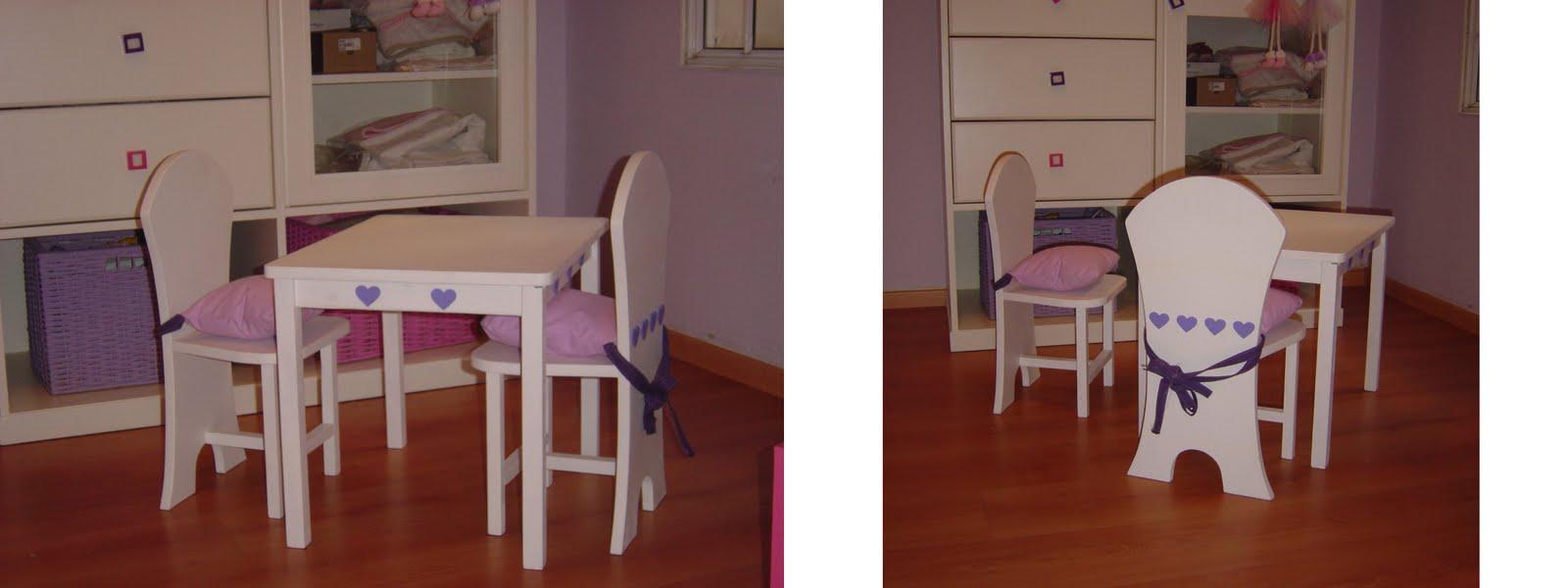 Mesas y sillas infantiles contrapunto for Mesa y silla infantil