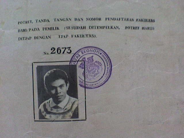 ditanda tangani oleh dekan nya pada tanggal 26 januari 1973 tojeng