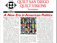 Yes! We Can! featured on Quilt Visions Newsletter
