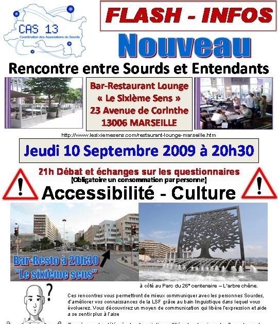 Rencontres sourds entendants marseille