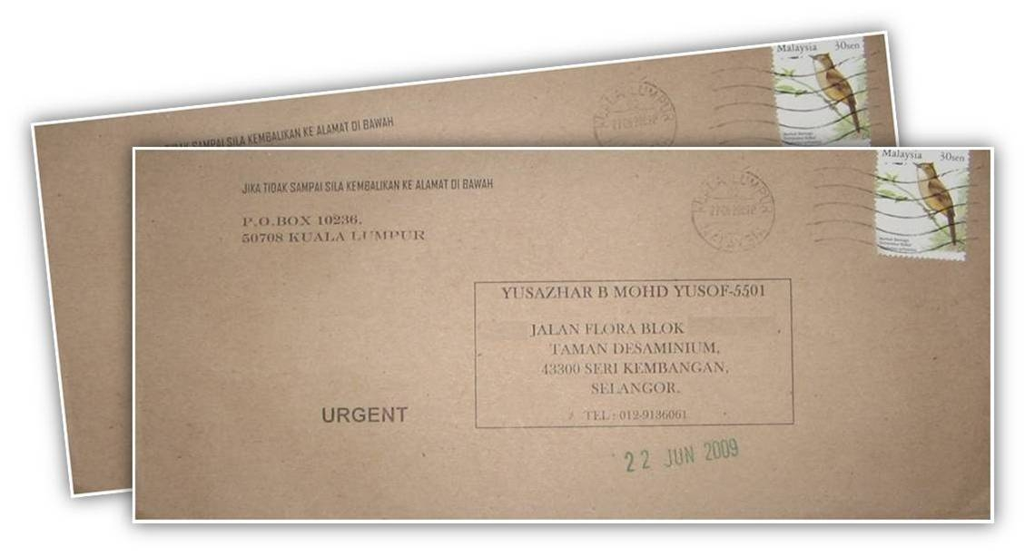 Gambar Sampul Surat