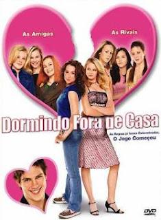 Filme Poster Dormindo Fora De Casa DVDRip RMVB Dublado