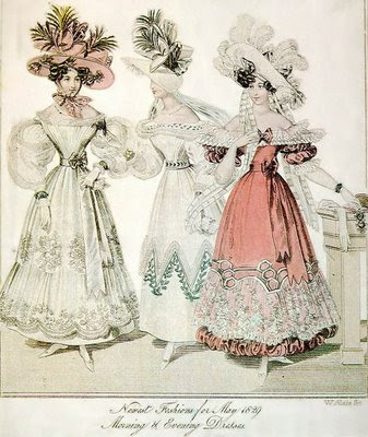 1820 1840 Fashion http://misteriolondres.blogspot.com/2009/03/victorian-fashion-1820-1840-moda.html