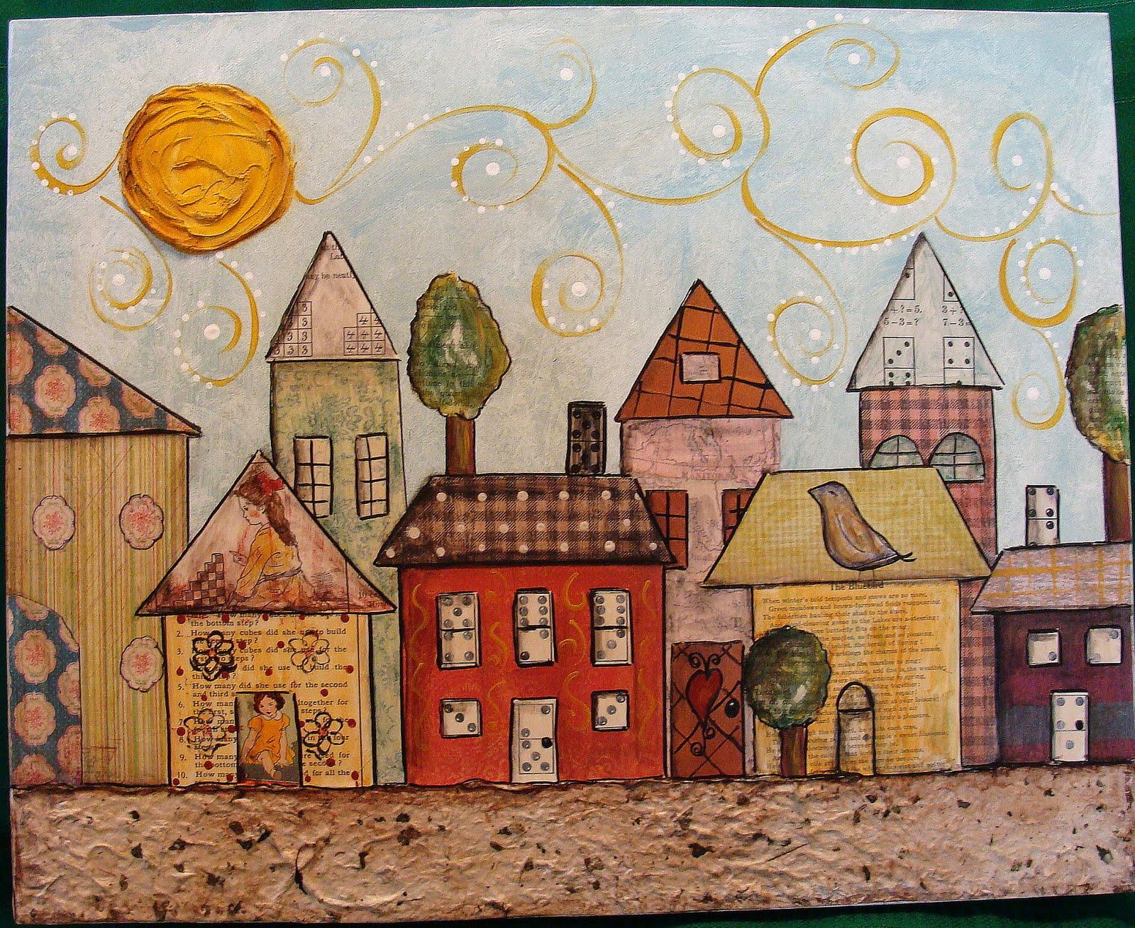 My Art Journal Mixed Media Paintings