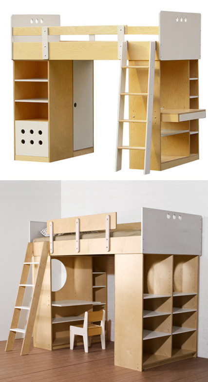 mini & maximus: Some Really Cool Bunk Beds