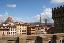 View from the roof of the Uffizi Gallery