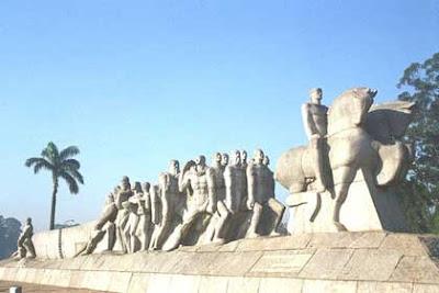 Monumento dos Bandeirantes, Vitor Brecheret