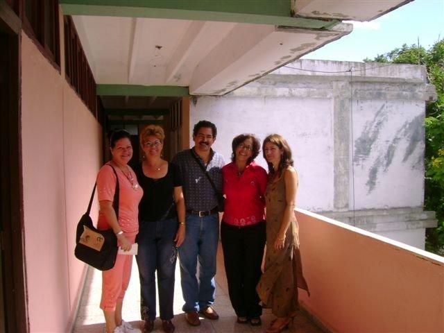 Mercedes, Mayda, Giovanni, Aurora, Emma