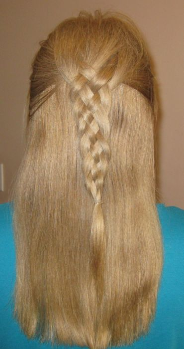 My Bumpy Middle Aged Long Hair Journey How To Make A 5 Strand Braid