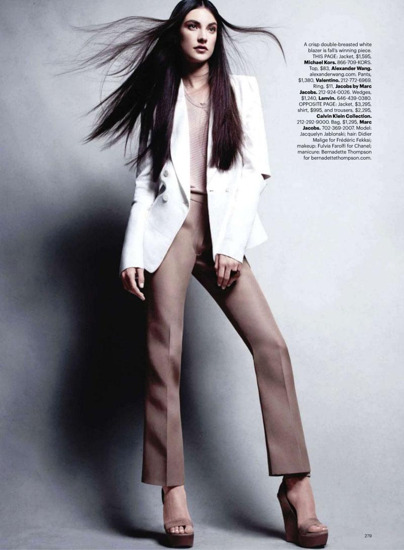 model jacquelyn jablonski fotoğraflar victor demarchelier styling ...