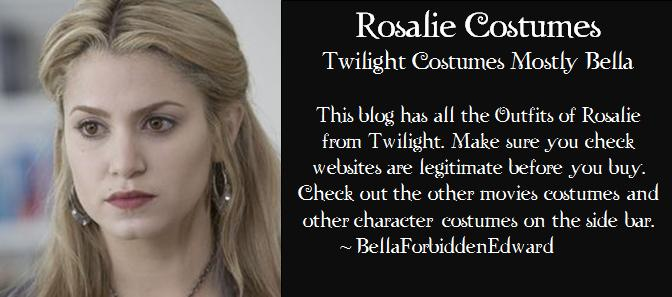 Rosalie Twilight Costumes Mostly Bella