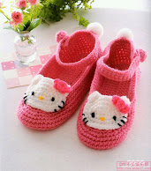 حذاء كيتي كروشيه لأبنتك