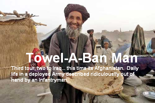 Towel-A-Ban Man