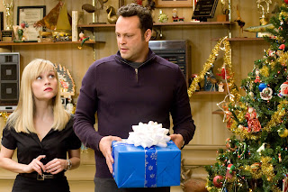 'Holding presents' is about the sum total of Christmas content in this film