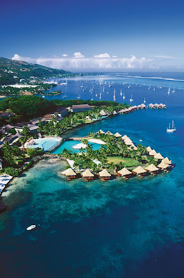 Tahiti Is One Of The Biggest Islands In French Polynesse Caribbean It Has A Lot Beautiful Places To Visit Not Only Beach There Big