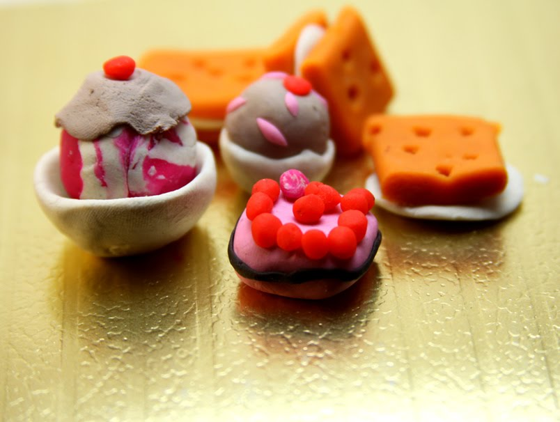 Art Is Life Life Is Art 39 Desserts 39 Done In Clay By My