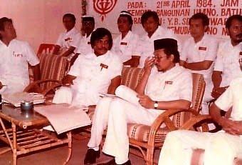DS Anwar Di Bahagian Batu Gajah 1984