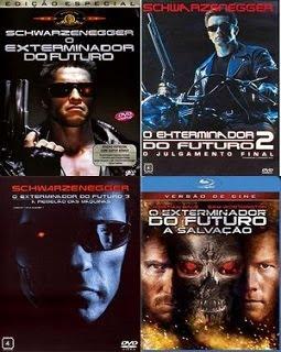 Quadrilogia O Exterminador do Futuro DVDRip XviD Dublado