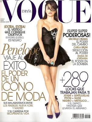 Kiosko de prensa: Vogue España_abril