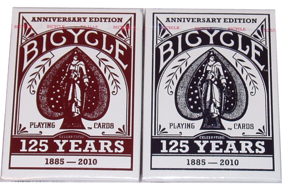 The 1 Eyed Jack: Bicycle 125th Anniversary Edition Deck