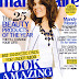 Mandy Moore cover girl of Marie Claire Magazine - April 2009