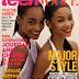 Jourdan Dunn & Chanel Iman on Teen Vogue Mag - November 2009