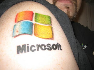 windows tatoo tatuagem microsoft